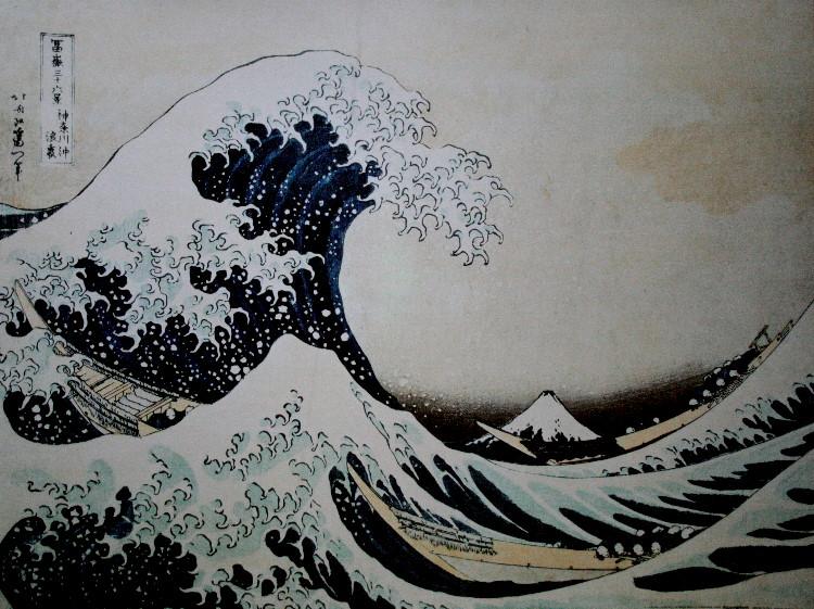 Hokusai grande vague